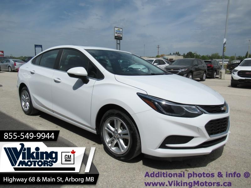 Pre-Owned 2018 Chevrolet Cruze LT - Bluetooth - Heated Seats - $121 B/W