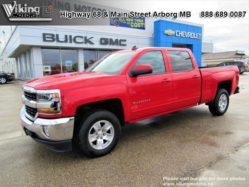 New 2018 Chevrolet Silverado 1500 LT - SiriusXM - Heated Seats - $313.75 B/W