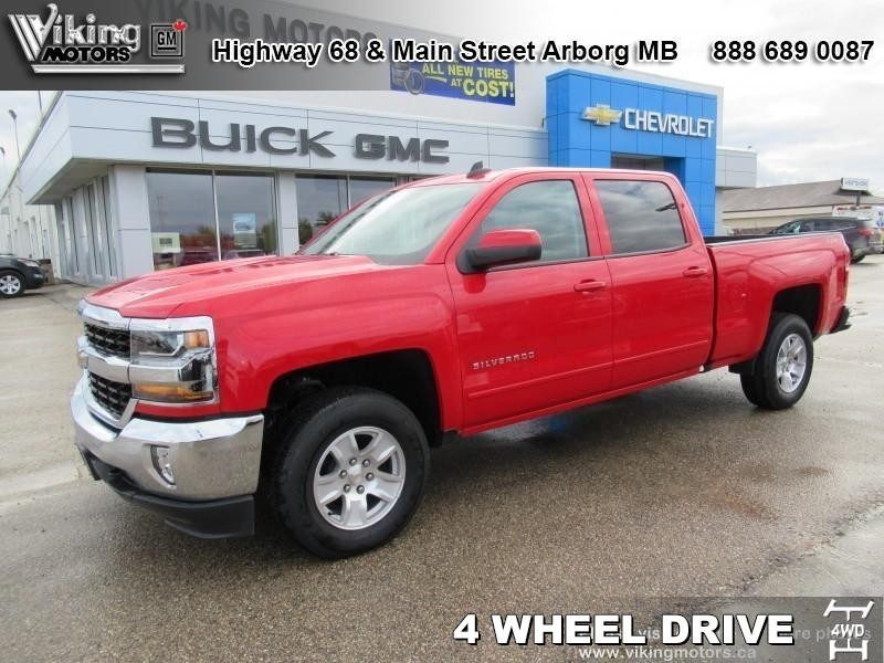 New 2018 Chevrolet Silverado 1500 LT - SiriusXM - Heated Seats - $296.44 B/W