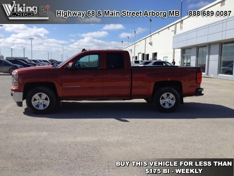 Pre-Owned 2015 Chevrolet Silverado 1500 LT - Bluetooth - $168.74 B/W