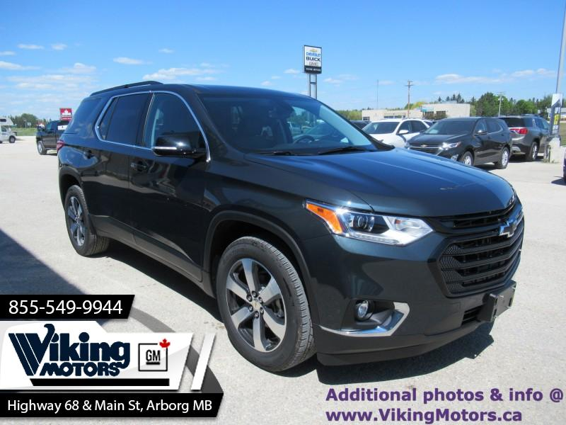 New 2019 Chevrolet Traverse LT True North - - $340 B/W