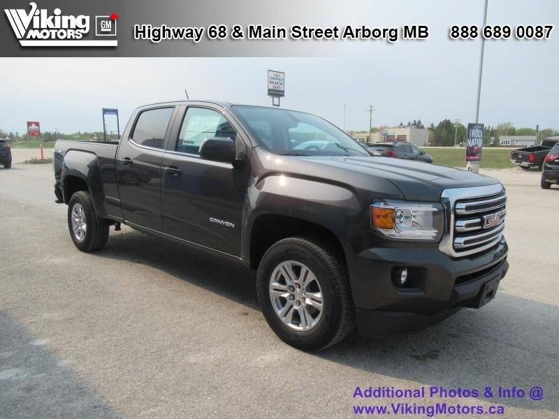 New 2019 GMC Canyon SLE 4x4 - $245 B/W