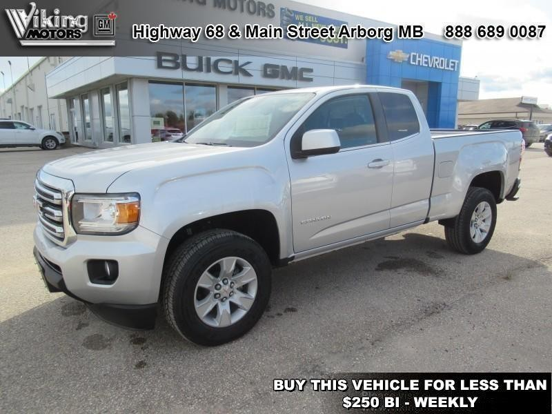 New 2018 GMC Canyon 2WD SLE - $226.74 B/W