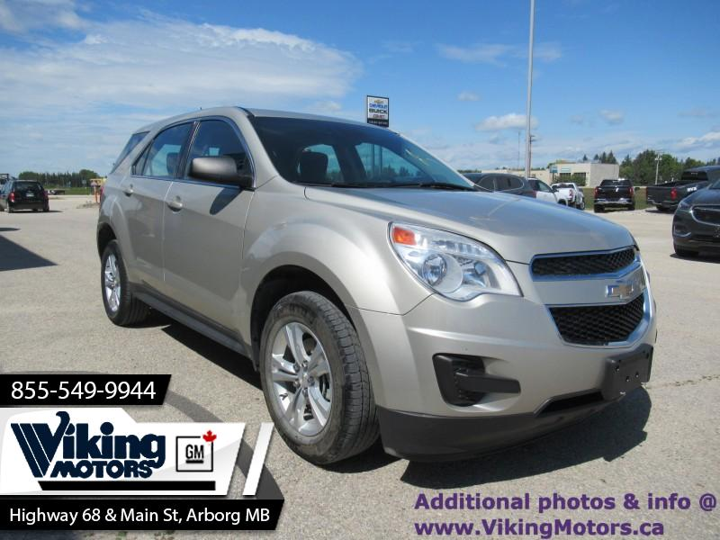 Pre-Owned 2015 Chevrolet Equinox LS AWD - Bluetooth - SiriusXM - $99 B/W