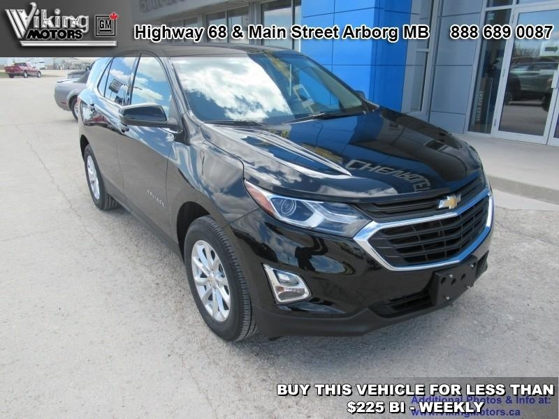 New 2019 Chevrolet Equinox LT - Power Liftgate - SiriusXM - $205.95 B/W