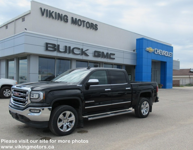 Pre-Owned 2016 GMC Sierra 1500 SLT - Leather Seats - Heated Seats - $227.38 B/W