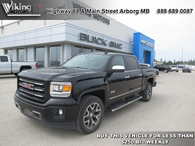 Pre-Owned 2015 GMC Sierra 1500 SLT - Leather Seats - Bluetooth - $246.92 B/W