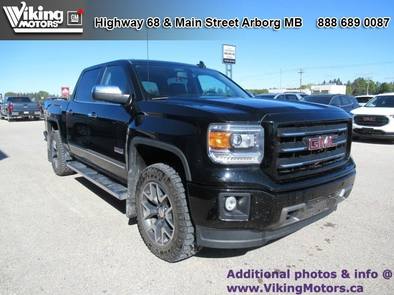 Pre-Owned 2015 GMC Sierra 1500 SLT - Leather Seats - Bluetooth - $267 B/W