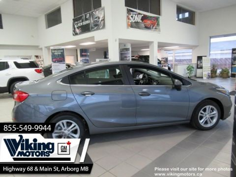 New 2018 Chevrolet Cruze LT - Heated Seats - $134 B/W