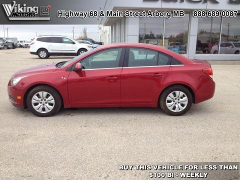 Pre-Owned 2014 Chevrolet Cruze 1LT - Bluetooth - OnStar - $90.56 B/W