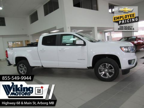 New 2020 Chevrolet Colorado 4WD Z71 - $241 B/W