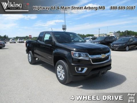 New 2018 Chevrolet Colorado LT - SiriusXM - $257.88 B/W
