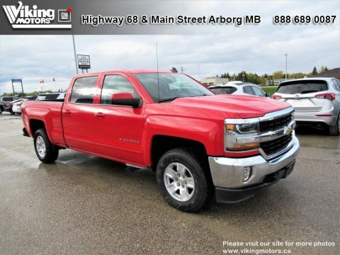 New 2018 Chevrolet Silverado 1500 LT - SiriusXM - Heated Seats - $241.07 B/W