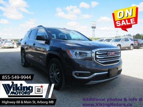 Pre-Owned 2017 GMC Acadia SLT - Leather Seats - Power Liftgate - $208 B/W