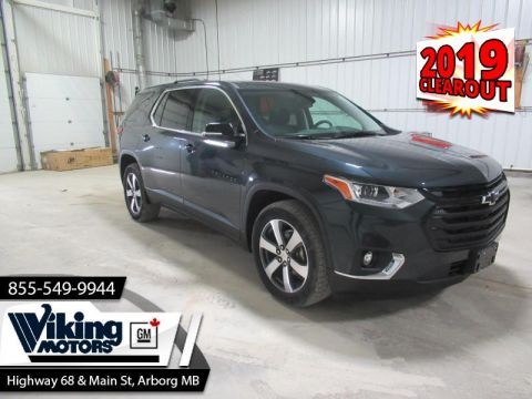 2019 Chevrolet Traverse LT True North  - Sunroof - $288 B/W