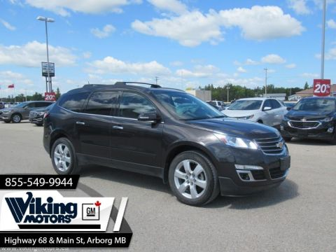 Pre-Owned 2017 Chevrolet Traverse LT - Heated Seat - SiriusXM - $182 B/W