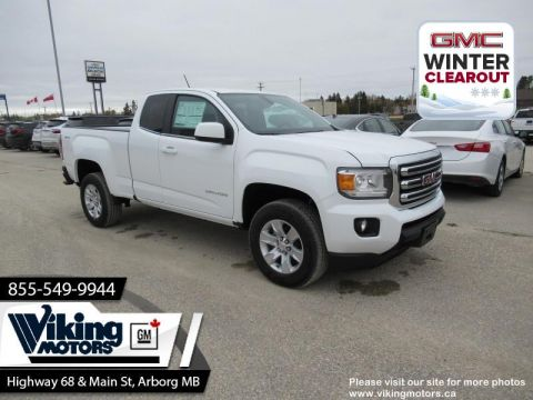 New 2018 GMC Canyon 4WD SLE - SiriusXM - $227 B/W