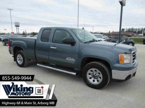 Pre-Owned 2012 GMC Sierra 1500 4X4 D/C LOW KMS! - $182 B/W