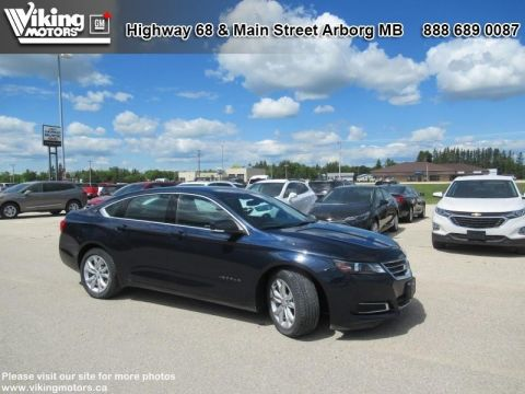 Pre-Owned 2017 Chevrolet Impala LT - Bluetooth - SiriusXM - $127 B/W