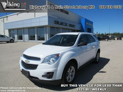 Pre-Owned 2014 Chevrolet Equinox LS - Bluetooth - SiriusXM - $103.59 B/W