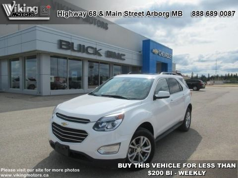 Pre-Owned 2017 Chevrolet Equinox LT - Bluetooth - Heated Seats - $188.29 B/W
