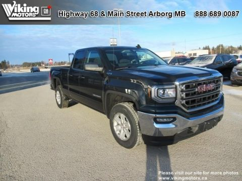 New 2019 GMC Sierra 1500 Limited 4WD Double Cab SLE - $253 B/W