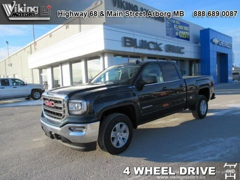 New 2019 GMC Sierra 1500 Limited 4WD Double Cab SLE - $322.34 B/W