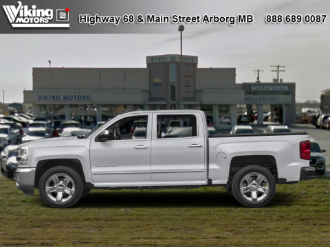 Pre-Owned 2017 Chevrolet Silverado 1500 LTZ - Heated Seats - $262 B/W