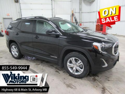 Certified Pre-Owned 2019 GMC Terrain SLE AWD -Heated Seats - Remote Start -Apple & Android Car Play