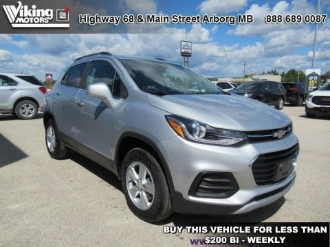 New 2019 Chevrolet Trax LT - Sunroof - $180 B/W