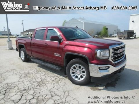 Pre-Owned 2017 GMC Sierra 1500 SLE - Bluetooth - $248.45 B/W