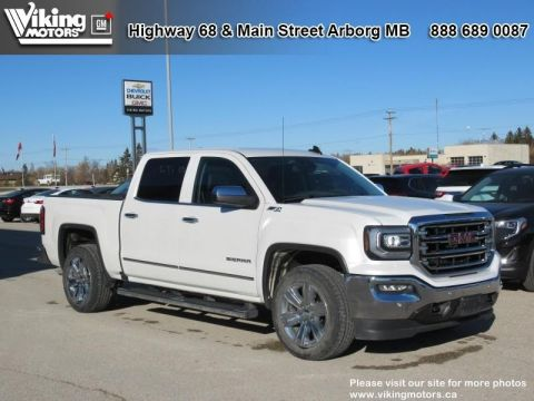 Pre-Owned 2016 GMC Sierra 1500 SLT - Leather Seats - Heated Seats - $248.45 B/W