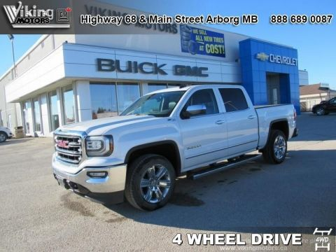 Pre-Owned 2016 GMC Sierra 1500 SLT - Leather Seats - Heated Seats - $253.44 B/W