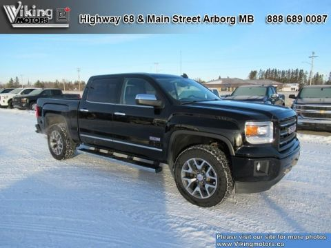 Pre-Owned 2015 GMC Sierra 1500 SLT - Leather Seats - Bluetooth - $266.58 B/W